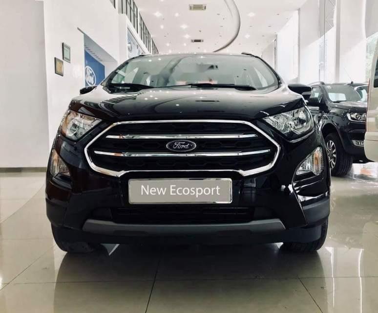 Bán ô tô Ford EcoSport sản xuất 2019, màu đen, giá 533tr-0