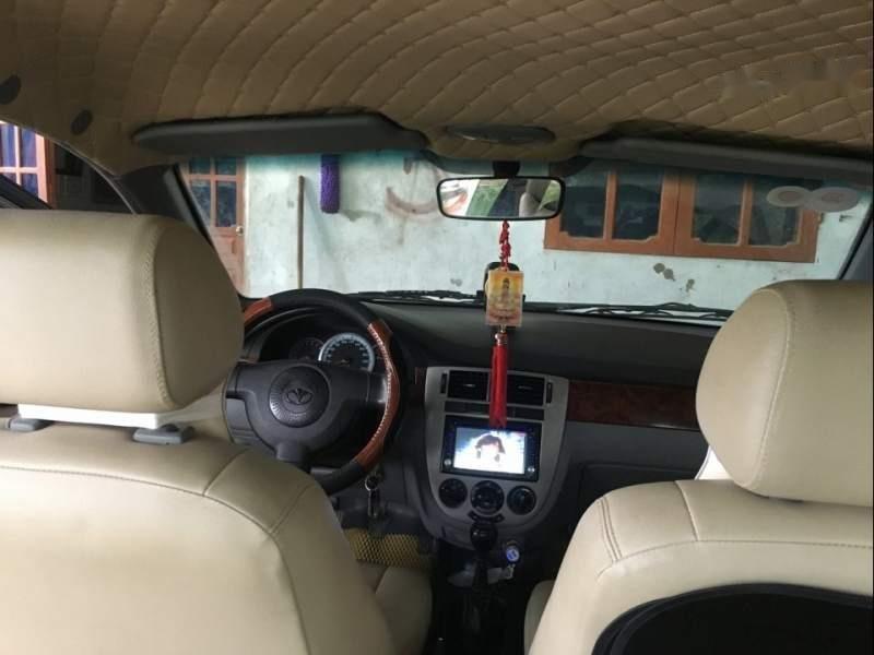 Bán xe Daewoo Lacetti 2008, màu bạc, xe gia đình -1