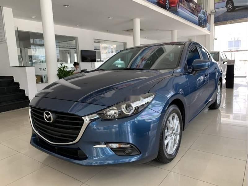 Cần bán Mazda 3 2019, màu xanh lam, giá 669tr-0