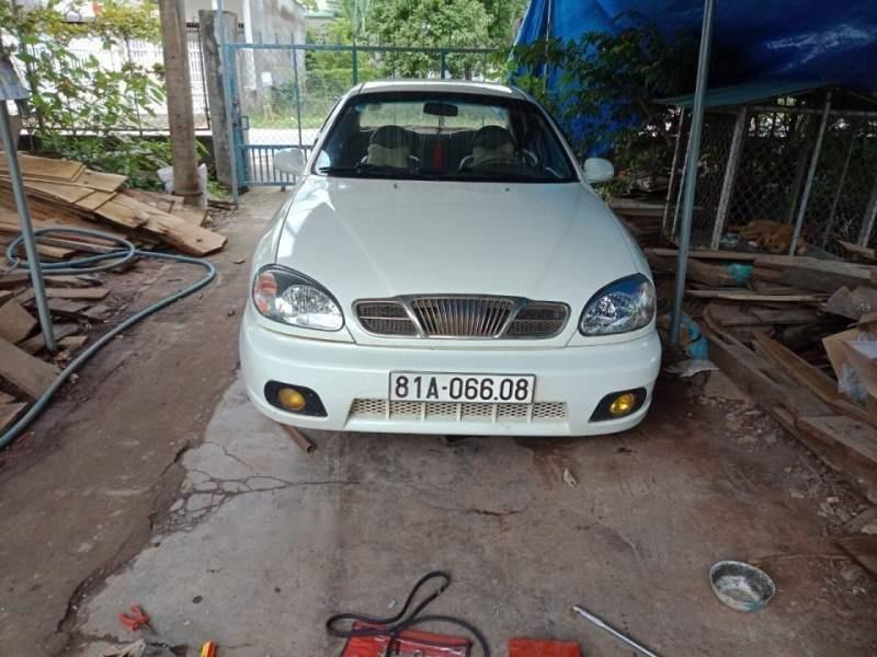 Bán ô tô Daewoo Lanos sản xuất năm 2002, màu trắng, nhập khẩu nguyên chiếc còn mới, 80tr-0