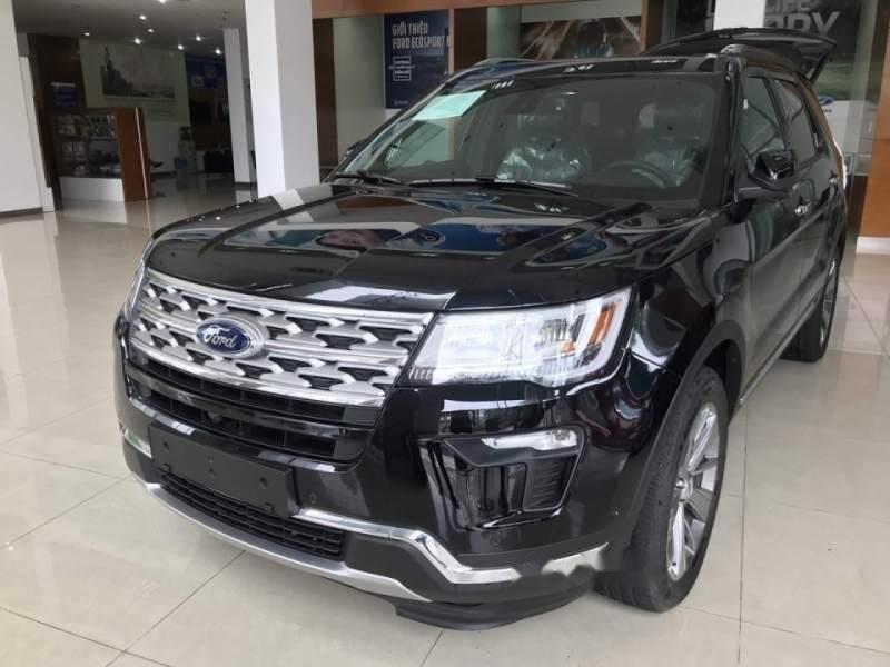 Bán xe Ford Explorer đời 2019, màu đen, nhập khẩu  -1