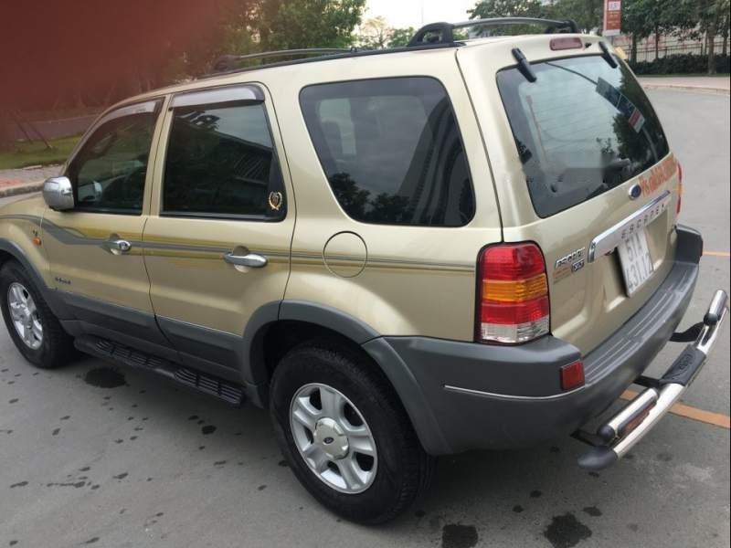 Bán Ford Escape 2004, màu vàng, số tự động -4