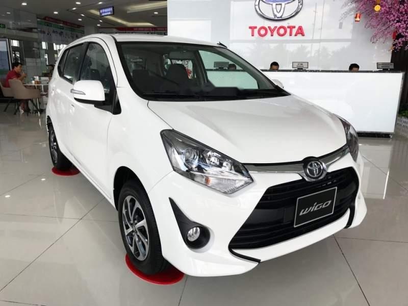 Cần bán xe Toyota Wigo năm sản xuất 2019, màu trắng, nhập khẩu nguyên chiếc, giá tốt (2)