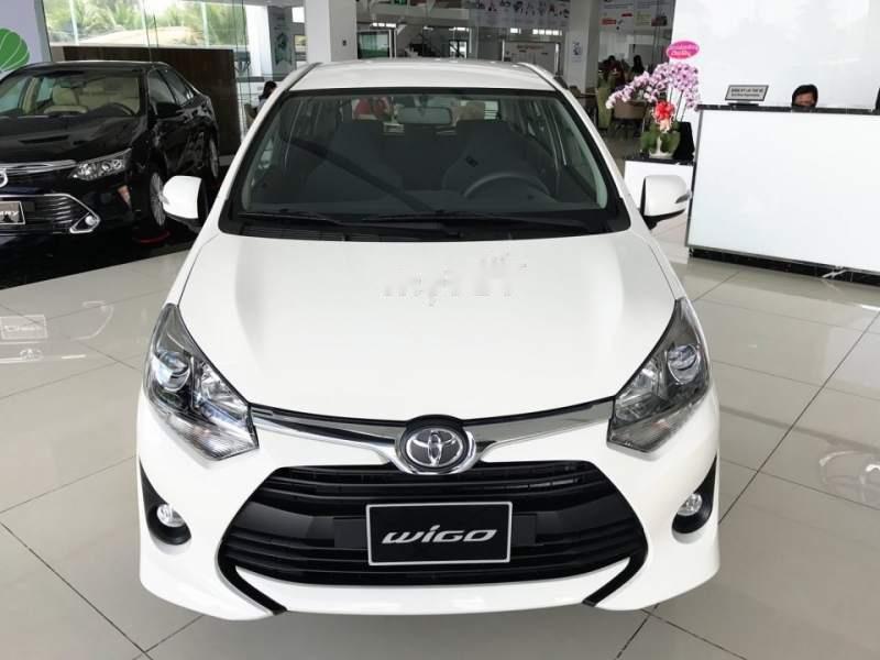 Cần bán xe Toyota Wigo năm sản xuất 2019, màu trắng, nhập khẩu nguyên chiếc, giá tốt (1)