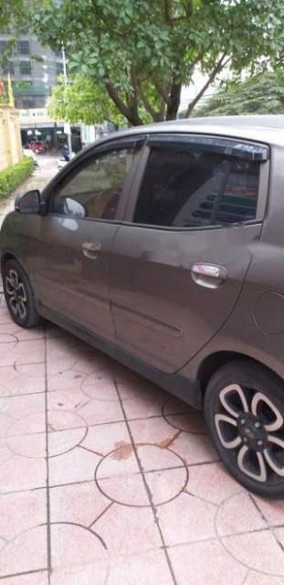 Bán ô tô Kia Morning 1.0AT SLX năm 2009, màu xám, nhập khẩu-1