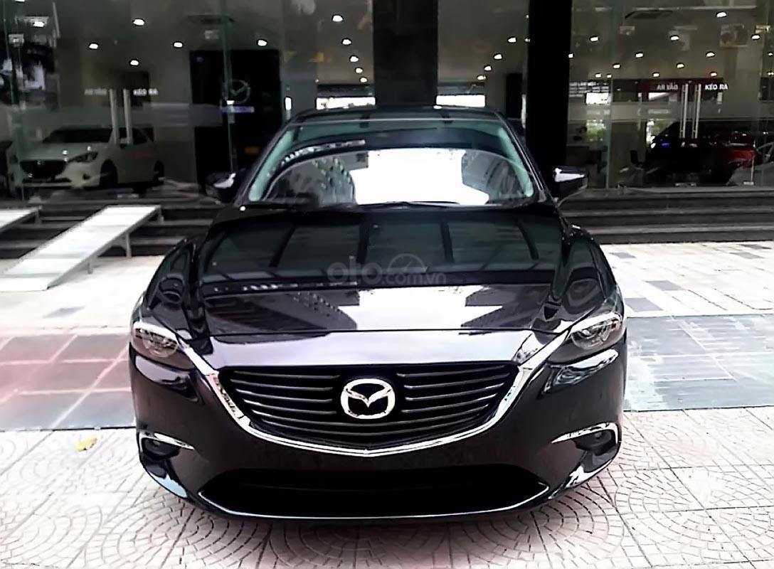Bán xe Mazda 6 2019, màu đen, xe nhập, 782 triệu-1