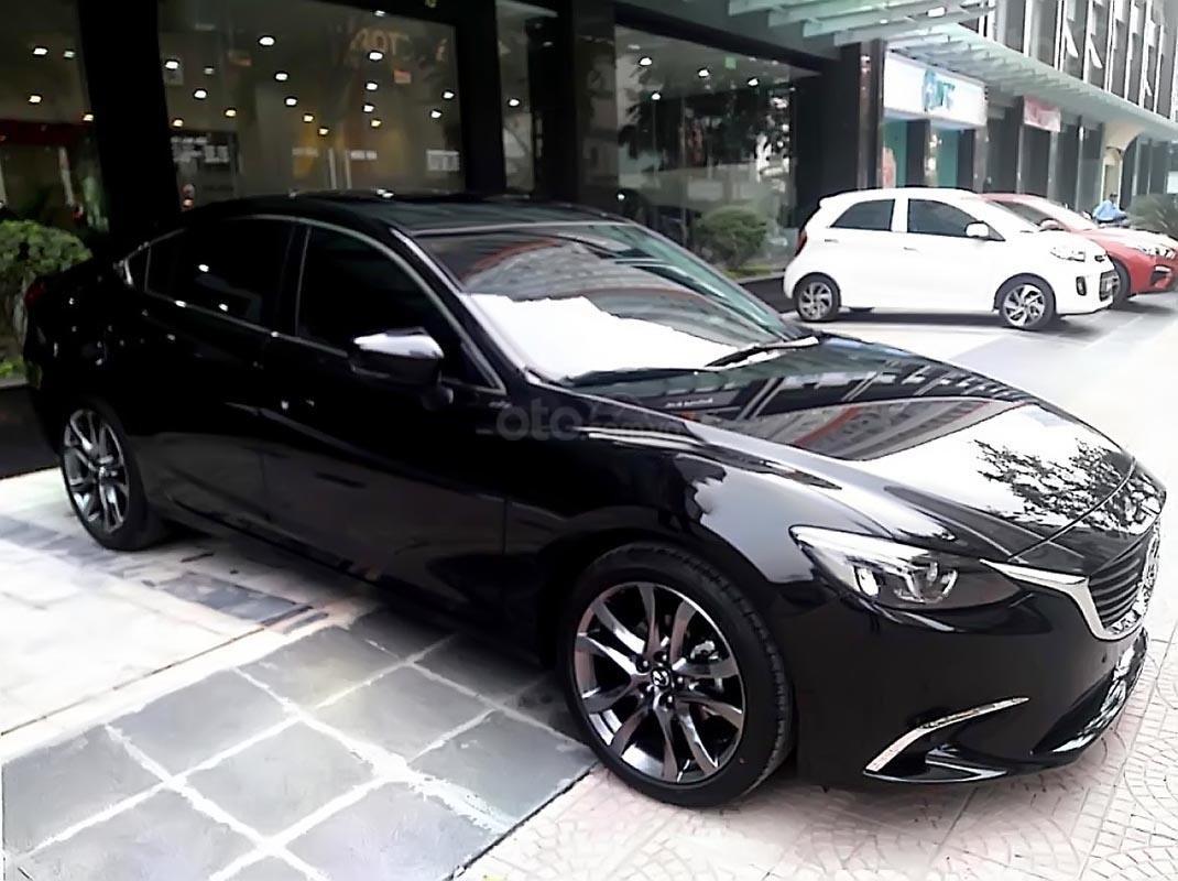 Bán xe Mazda 6 2019, màu đen, xe nhập, 782 triệu-0
