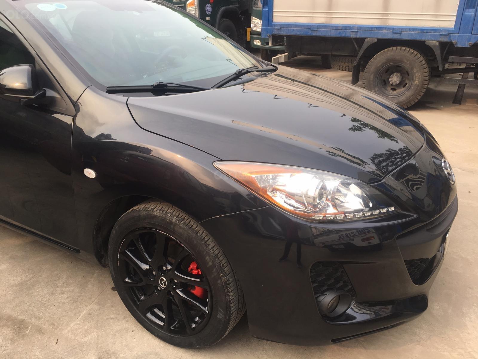 Chính chủ bán Mazda 3S 1.6 AT, sx 2013, màu đen đi 5 vạn-1