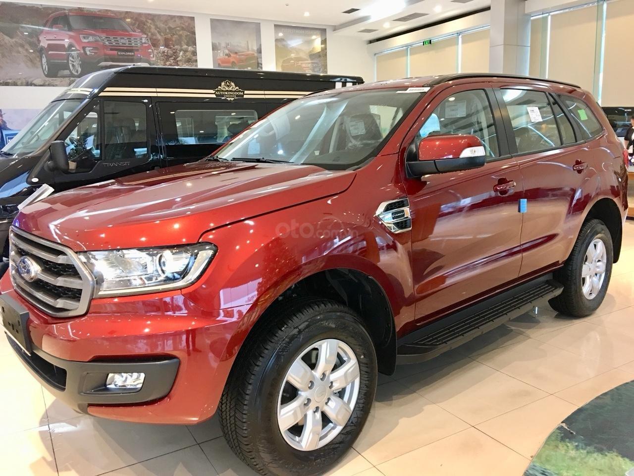 Bán xe Ford Everest  Ambiente MT năm sản xuất 2019, màu đỏ, xe nhập, giá 960tr (1)