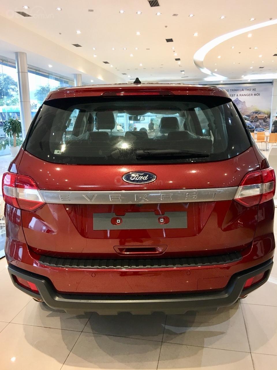 Bán xe Ford Everest  Ambiente MT năm sản xuất 2019, màu đỏ, xe nhập, giá 960tr (2)