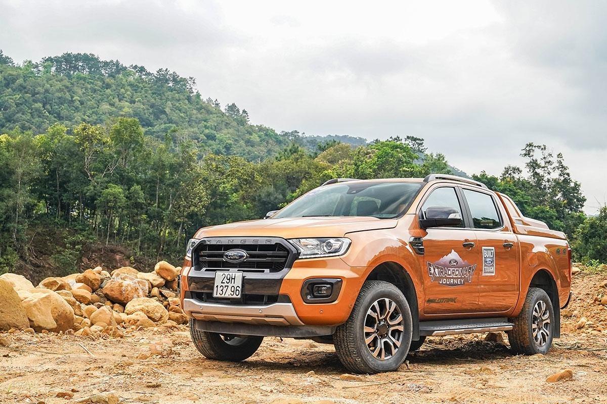 Đánh giá xe Ford Ranger Wildtrak 4x4 2019 a1