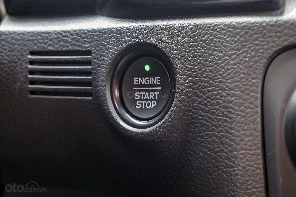 Nội thất Ford Ranger Wildtrak 4x4 2019: Nút bấm khởi động.