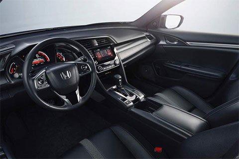 Nội thất hiện đại của Honda Civic 2018