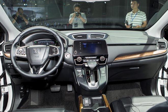 nội thất đơn giản nhưng hiện đại trên Honda CRV 2018
