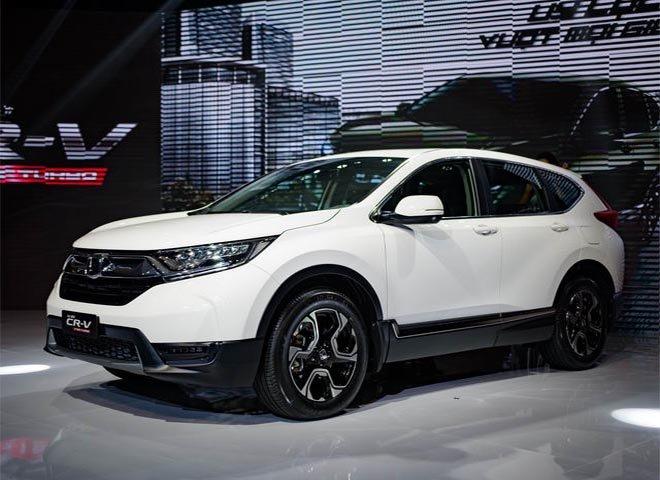Kiểu dáng thể thao nhưng không kém phần hiện đại của Honda CR-V 2018