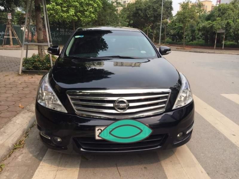 Bán Nissan Teana đời 2011, màu đen, nhập khẩu, chính chủ (1)