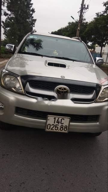 Bán Toyota Hilux G sản xuất năm 2010, màu bạc, xe nhập, 330 triệu-4