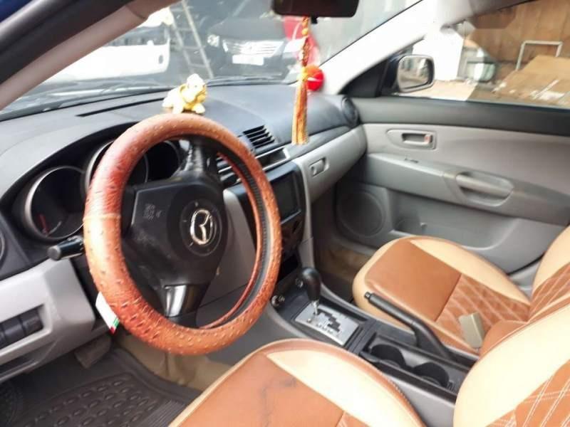 Bán Mazda 3 năm sản xuất 2004, màu xanh lam, xe nhập-4