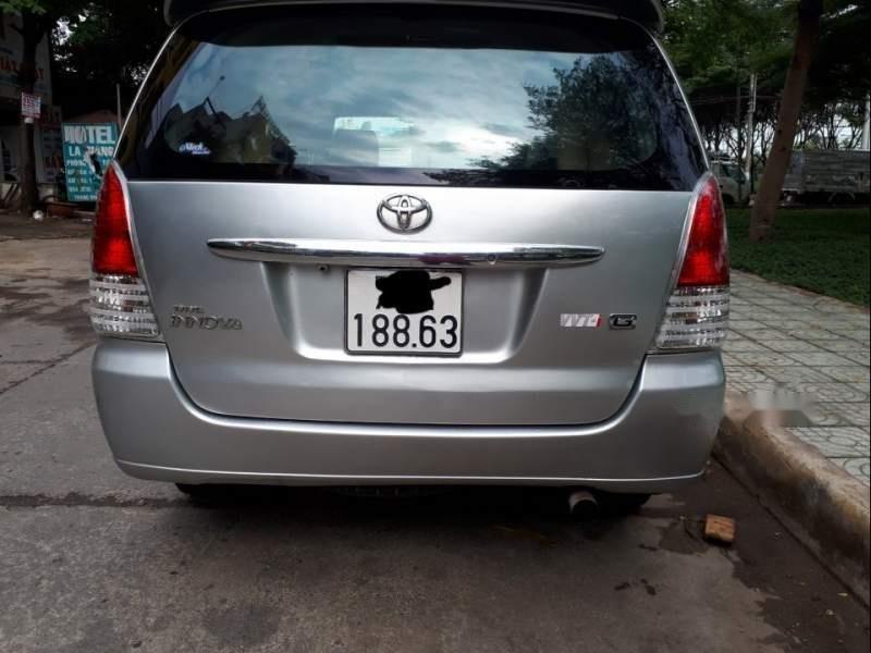 Cần bán Toyota Innova năm sản xuất 2008, màu bạc-1