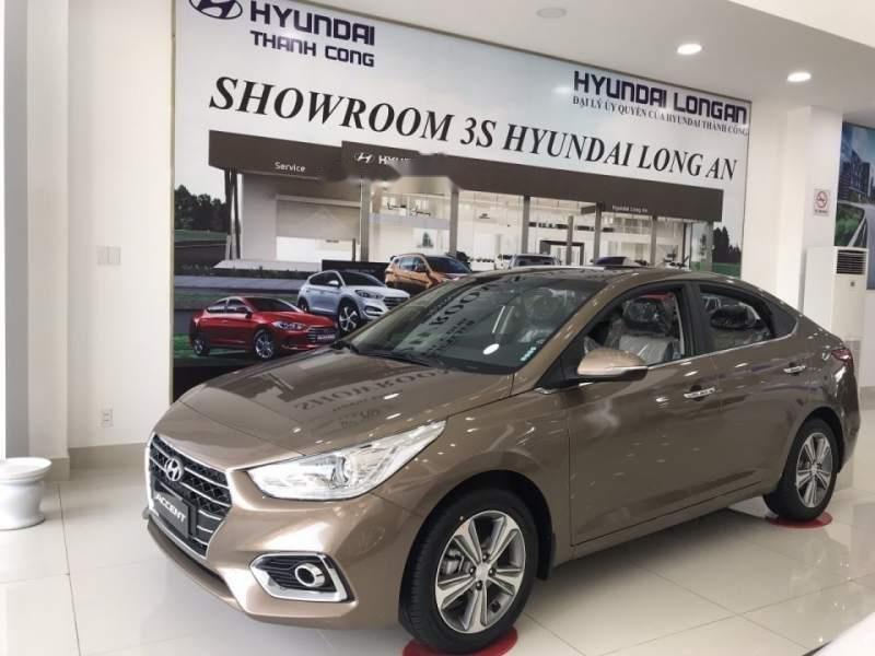 Bán xe Hyundai Accent sản xuất 2019, màu nâu-3