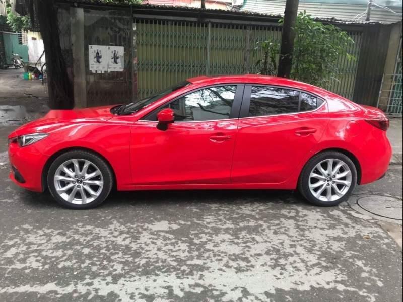 Bán Mazda 3 2.0AT đời 2015, màu đỏ, nhập khẩu -2
