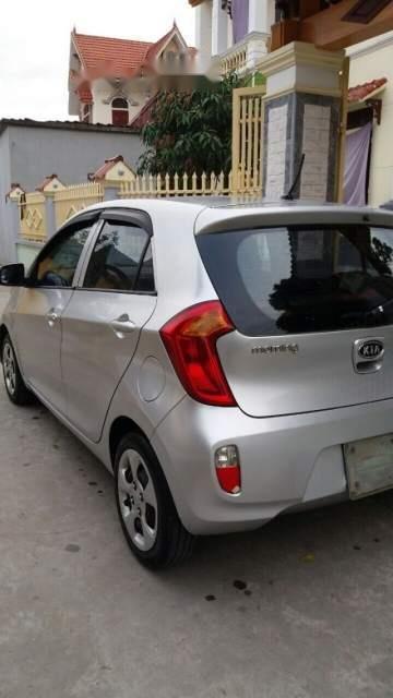 Cần bán lại xe Kia Morning 2013, màu bạc, nhập khẩu nguyên chiếc-0
