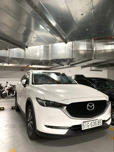 Bán Mazda CX 5 2018, màu trắng, chính chủ -0