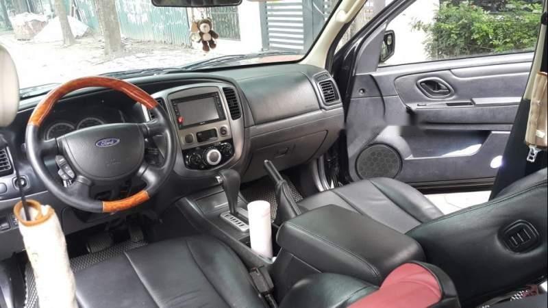 Bán Ford Escape 2.3 XLS đời 2009, màu đen, nhập khẩu  -4