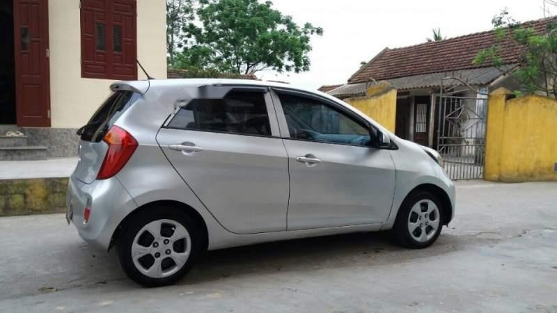 Cần bán lại xe Kia Morning 2013, màu bạc, nhập khẩu nguyên chiếc-5