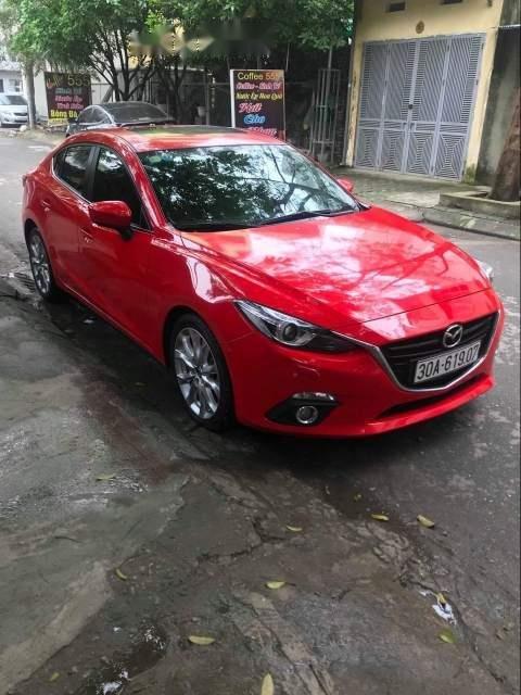 Bán Mazda 3 2.0AT đời 2015, màu đỏ, nhập khẩu -0