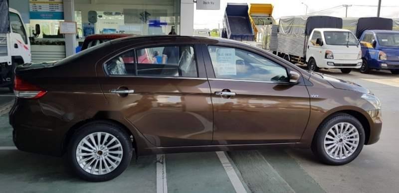 Bán Suzuki Ciaz đời 2019, màu nâu, xe nhập, giá chỉ 499 triệu-2