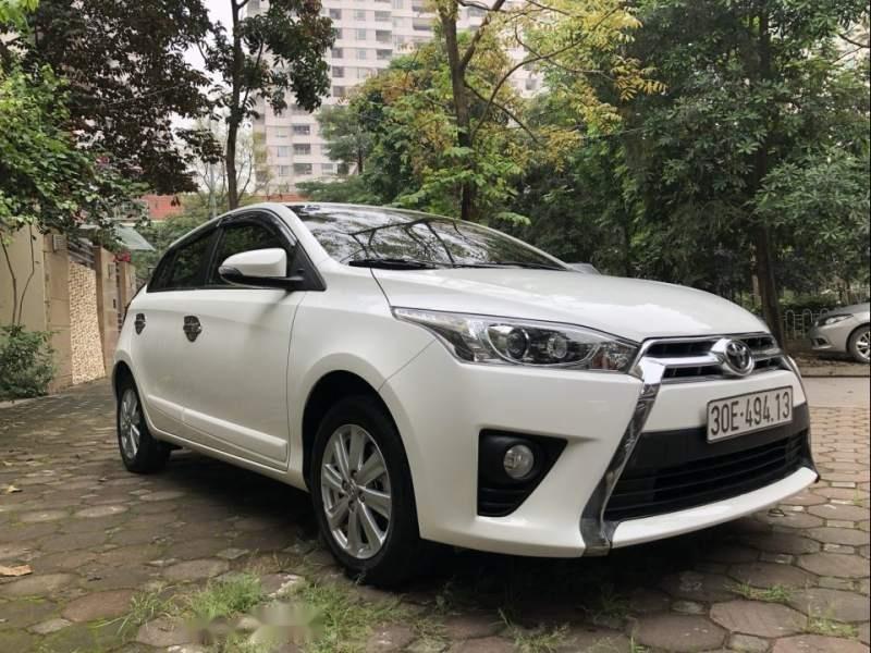 Bán xe Toyota Yaris G 1.5AT đời 2017, màu trắng, nhập khẩu chính chủ-3