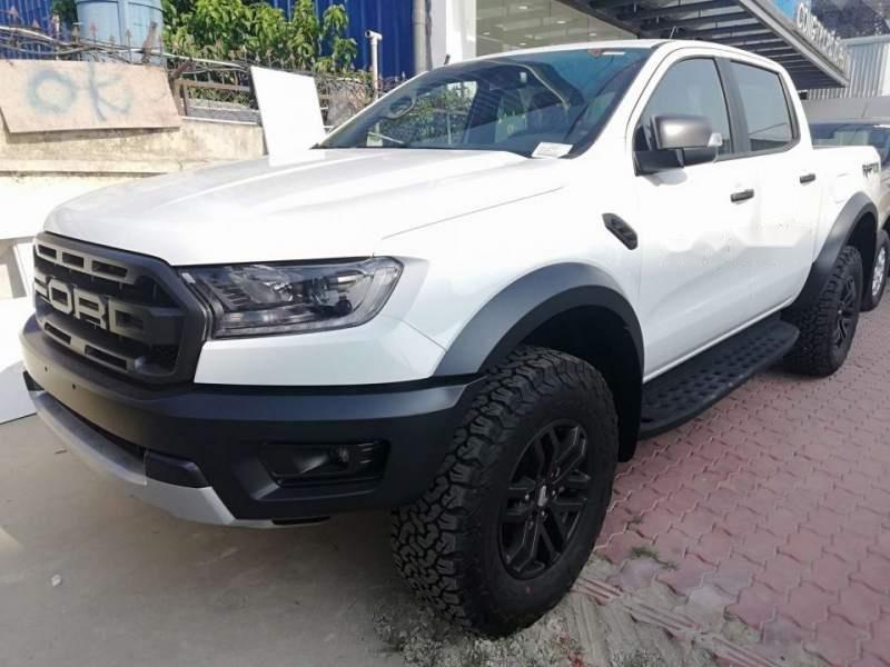 Bán xe Ford Ranger raptor 2019, màu trắng, xe nhập-2