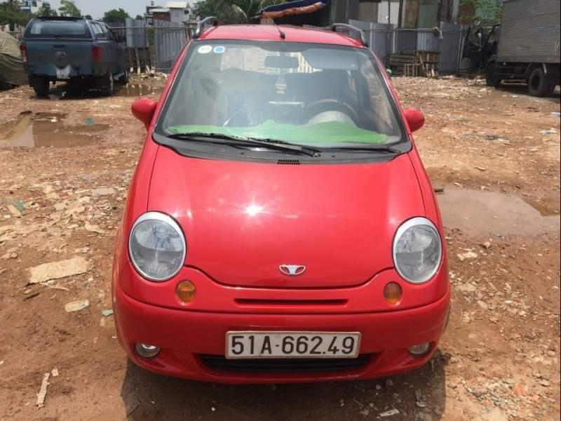 Cần bán gấp Daewoo Matiz 2002, màu đỏ chính chủ-2
