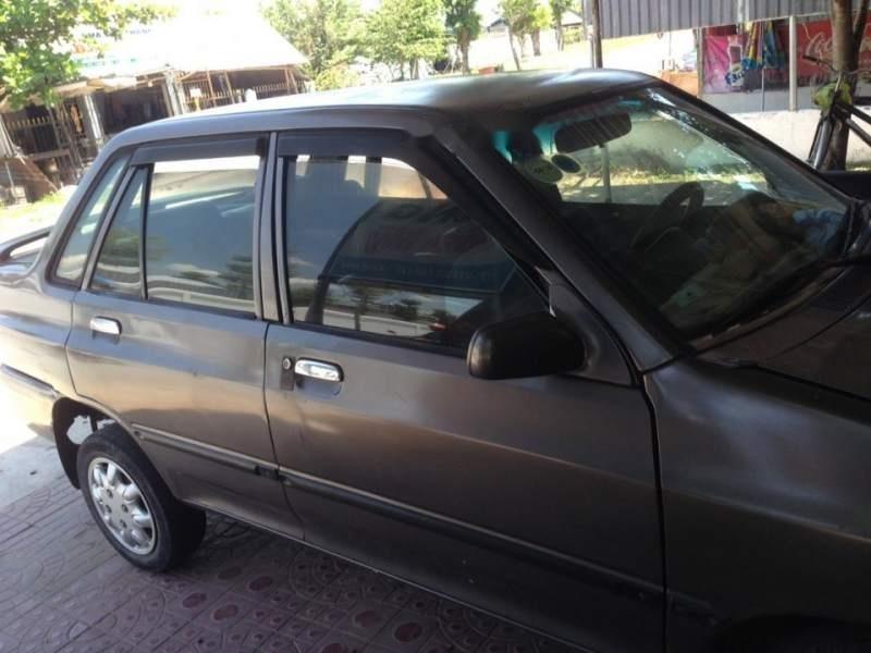 Bán ô tô Kia Pride đời 1996, màu xám, nhập khẩu-0