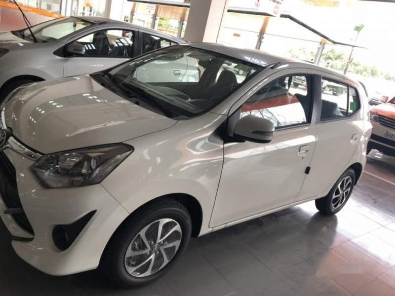 Bán Toyota Wigo 1.2AT sản xuất năm 2019, màu trắng, nhập khẩu-1