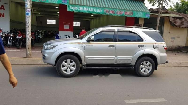 Cần bán lại xe Toyota Fortuner 2009, màu bạc, xe nhập xe gia đình, 495 triệu (1)