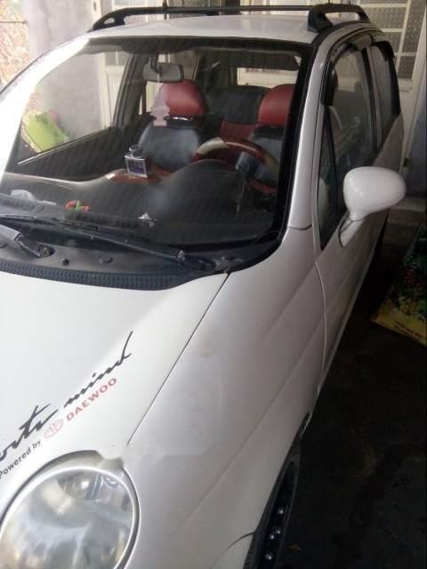Bán lại xe Daewoo Matiz sản xuất 2003, màu trắng, 60tr-1