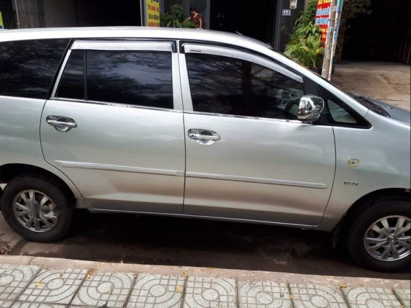 Cần bán Toyota Innova năm sản xuất 2008, màu bạc-5