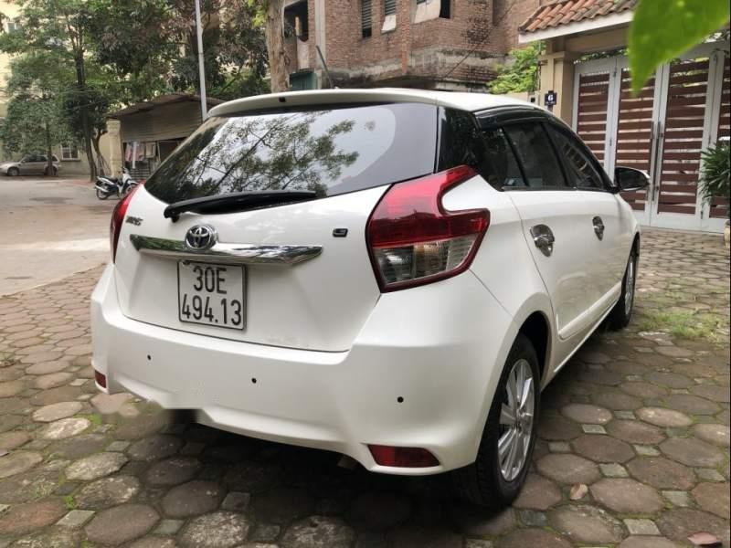 Bán xe Toyota Yaris G 1.5AT đời 2017, màu trắng, nhập khẩu chính chủ-4