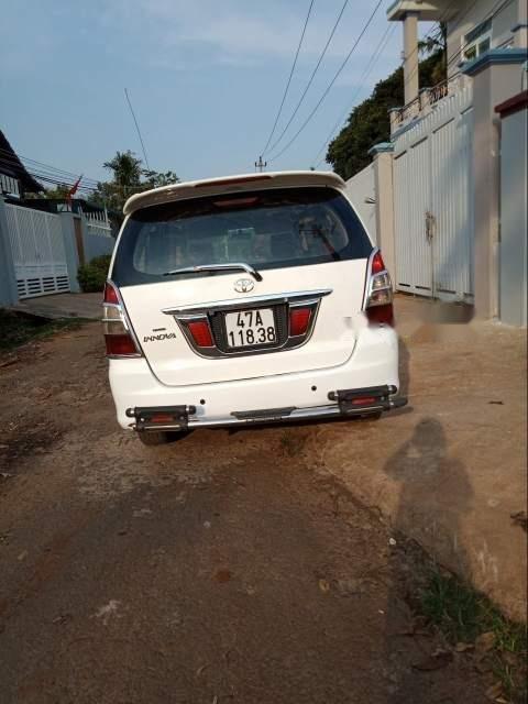 Bán Toyota Innova sản xuất năm 2010, màu trắng, xe nhập chính chủ-1