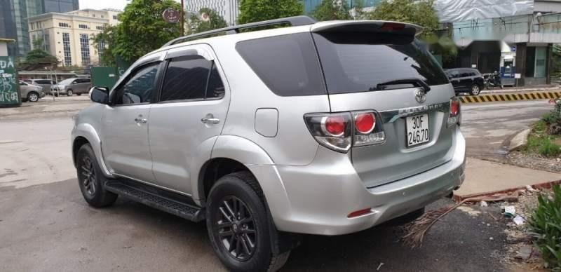 Bán xe Toyota Fortuner sản xuất năm 2016, màu bạc, nhập khẩu  -2
