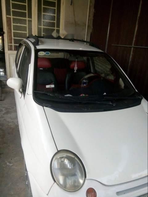 Bán lại xe Daewoo Matiz sản xuất 2003, màu trắng, 60tr-2