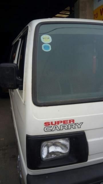 Bán Suzuki Super Carry Van đời 2005, màu trắng-3
