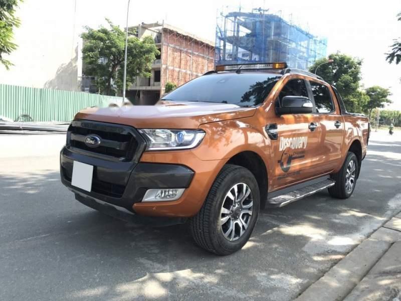 Bán Ford Ranger Wildtrak 3.2L sản xuất 2016, xe nhập, số tự động-0
