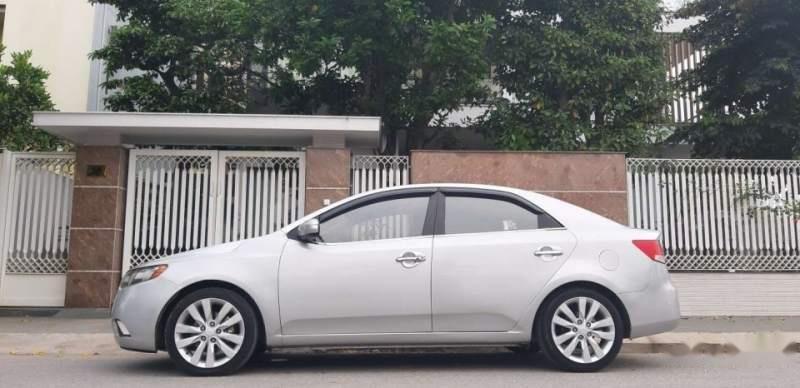 Bán xe Kia Forte đời 2009, màu bạc, nhập khẩu, 339 triệu-4