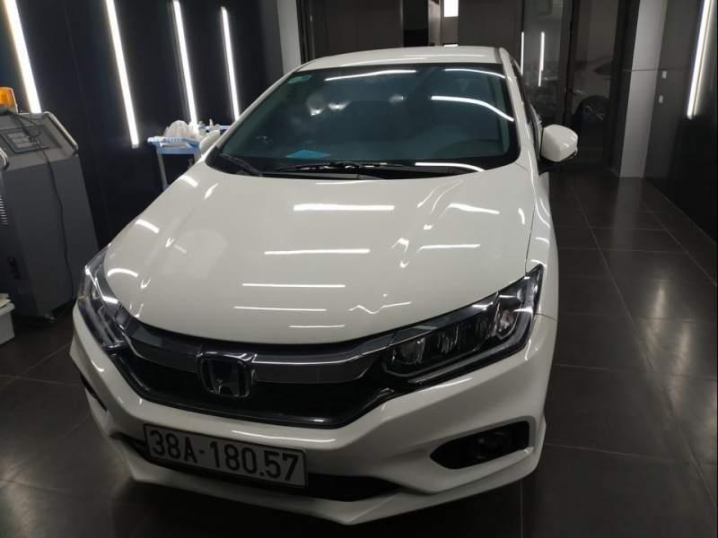 Cần bán xe cũ Honda City đời 2018, màu trắng-0