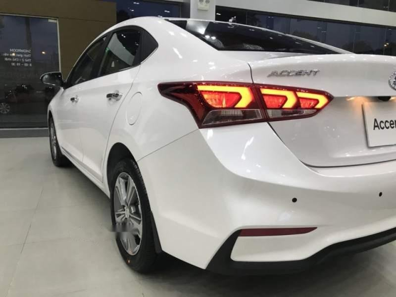 Bán xe Hyundai Accent 1.4 MT Base 2019, màu trắng, nhập khẩu, 430tr-0
