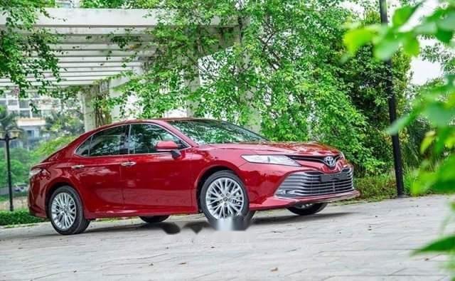 Bán Toyota Camry năm sản xuất 2019, màu đỏ, nhập khẩu-1