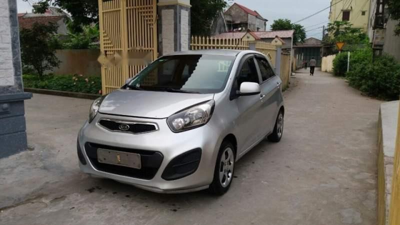 Cần bán lại xe Kia Morning 2013, màu bạc, nhập khẩu nguyên chiếc-3